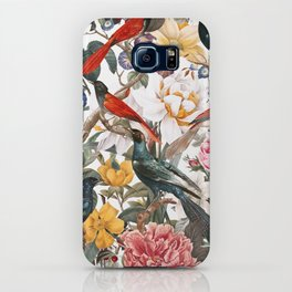 Floral and Birds XXXV iPhone Case