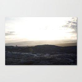 Kalapana Lava Flow Canvas Print