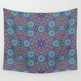BBQSHOES: Kaleido-Fractal 1790 Wall Tapestry