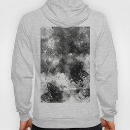 Deja Vu - Black and white, textured painting Hoody