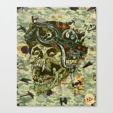Rebel Rider Canvas Print