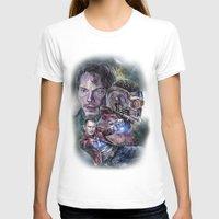 star lord T-shirts featuring Star Lord - Galaxy Guardian by Nina Palumbo Illustration