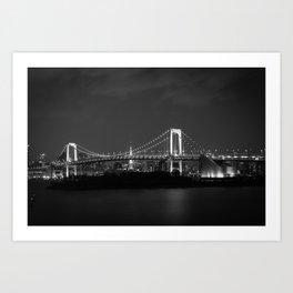 Bridge to Odaiba Art Print