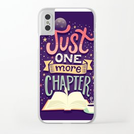 One more chapter Clear iPhone Case