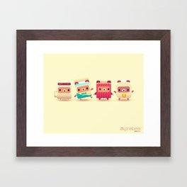 ALPHABEAR - Breakfast Bears Framed Art Print