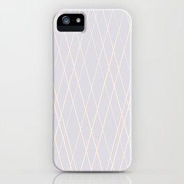 Pale mauve iPhone Case