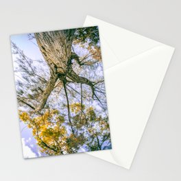 They didn't know how beautiful the earth could be until they left the block Stationery Cards
