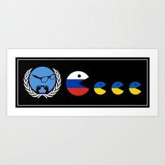 United Nations Russia and Ukraine Art Print