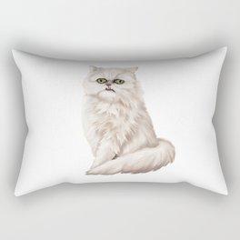 Wilfred Warrior the beautiful cat Rectangular Pillow
