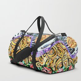 Opposites Attract Landscape Duffle Bag