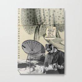 Artist Trading Card 024 Metal Print