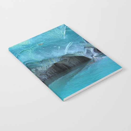 Marble blue 3 Notebook