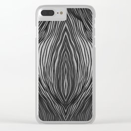 Dream Tunnel Clear iPhone Case