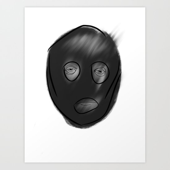 balaclava Art Print