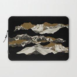 Golden Zugspitze / Black Laptop Sleeve