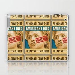 Hell No Hillary Laptop & iPad Skin