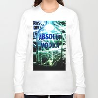 vodka Long Sleeve T-shirts featuring Absolut Vodka by Rothko