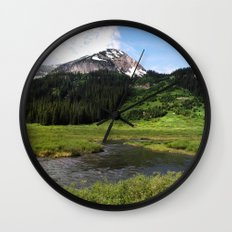 Crested Butte Wall Clock