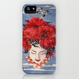 Gaisha Flower girl iPhone Case