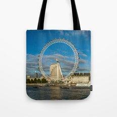 Thames River Panorama Tote Bag