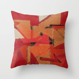 Indigenous Peoples in Brazil Throw Pillow