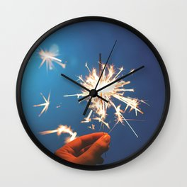 Sparkler (Fourth of July) Wall Clock