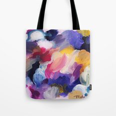 Robbie Abstract Painting Tote Bag