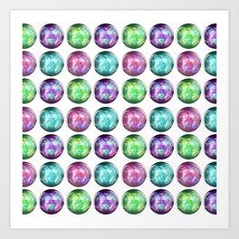 Crystal Ball Pattern Art Print