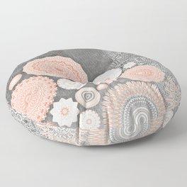 FESTIVAL FLOW BLUSH SUNSHINE Floor Pillow