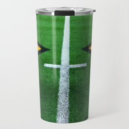 Rugby playing field Travel Mug
