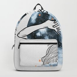 Hug the moon. Backpack
