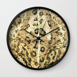 Toaderriffic Wall Clock