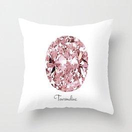 Tourmaline Throw Pillow