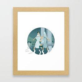 Dance at midnight Framed Art Print