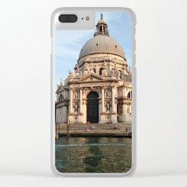 salute. Clear iPhone Case