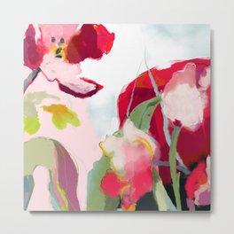 abstract bloom Metal Print