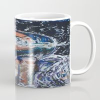 angels Mugs featuring Angels by Prime Vice