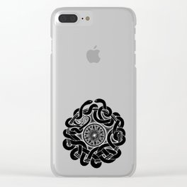 Tangled Serpents at Midnight Clear iPhone Case
