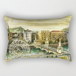 San Sebastián - Donosti. Euskadi - Pais Vasco - Basque Country Rectangular Pillow