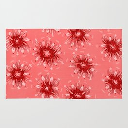 Red Christie Rose Rug