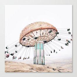 Mushroom Carousel Canvas Print