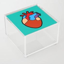 Anatomical Heart Acrylic Box