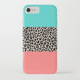 Leopard National Flag XVII iPhone Case