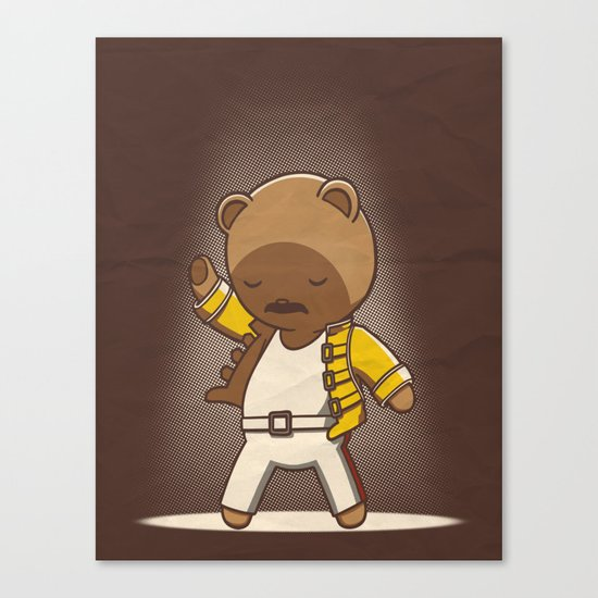 Teddy Mercury Canvas Print