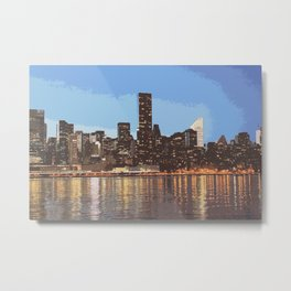 skyline newyork Metal Print