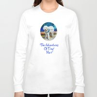 caleb troy Long Sleeve T-shirts featuring The Adventures Of Troy I by Louisa Catharine Photography