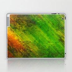 Diagonal Rainbow 3, Stressed Laptop & iPad Skin