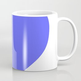 Heart (Azure & White) Coffee Mug
