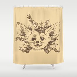 Fennec Shower Curtain