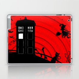 Tardis Halloween Laptop & iPad Skin